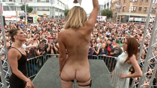PublicDisgrace - Mona Wales And Ariel X - Folsom Street Spectacle! The Ultimate Humiliation Of Mona Wales