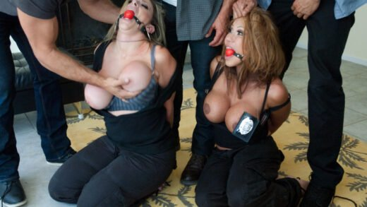 SexAndSubmission - Ava Devine And Sara Jay - The Big Bust 2 Drug Lords Take Revenge