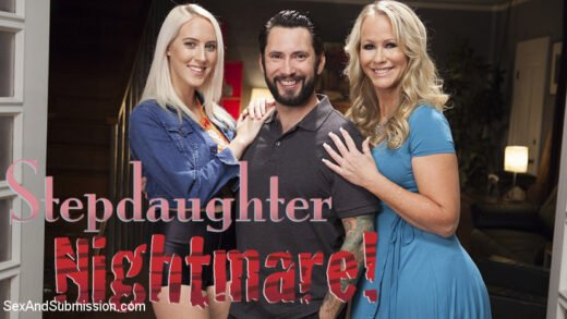 SexAndSubmission - Cadence Lux And Simone Sonay - Stepdaughter NIGHTMARE!