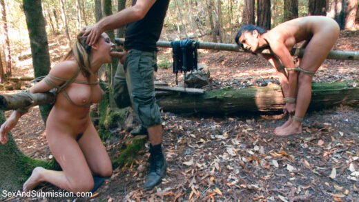 SexAndSubmission - Chanel Preston And Beretta James - The Final Offer Corporate Sluts Snatched In The Boondocks!