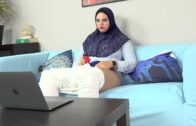 SexWithMuslims – Taylee Wood – Chubby muslim caught watching porn E117