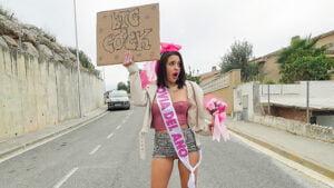 MilfsLikeItBig – Lou Lou And Petite Princess Eve – Bridge To Pussy, Perverzija.com