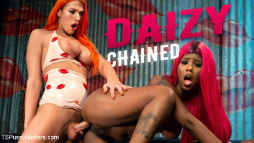 TSPussyHunters - Aspen Brooks And Daizy Cooper - Daizy Chained New To Kink Daizy Cooper Deep Fucked by Aspen Brooks