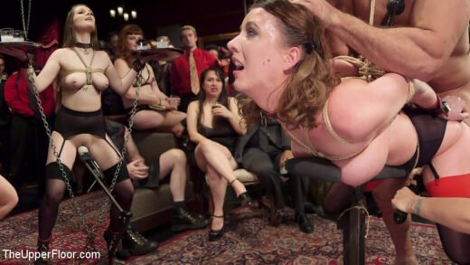 TheUpperFloor - Aiden Starr, Cherry Torn And Nora Riley - The Final Upper Floor Orgy P. 1