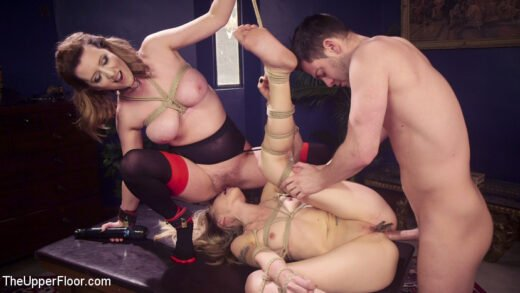 TheUpperFloor - Emma Haize And Cherry Torn - Eager Anal Cutie Returns To TUF To Be Destroyed