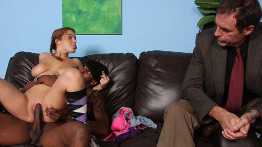 WatchingMyDaughterGoBlack - Natasha Nice