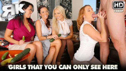 CFNMSecret - Ariella Ferrera, Janet Mason, Sienna West And Diana Doll - Ahead Of The Class
