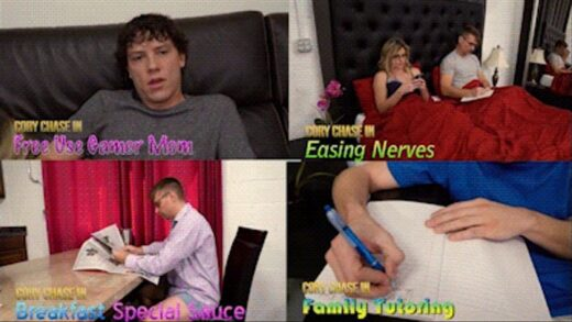 Clips4Sale - JerkyWives - Cory Chase in Free Use Family Parts 1-4