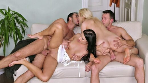 EuroSexParties - Angel Wicky And Kirsten Plant - Lustful Duo