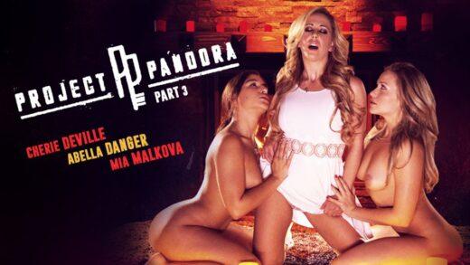 GirlsWay - Cherie DeVille, Abella Danger And Mia Malkova - Project Pandora Part Three