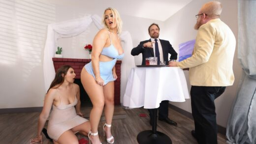 HotAndMean - Bella Rolland And Jenna Starr - Oyster Party Fuckfest Part 1