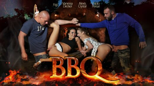 MMPNetwork - Alexis Crystal And Vanessa Decker - BBQ