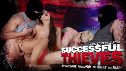 MMPNetwork - Mea Melone And Mila Milan - Successful Thieves