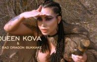 ManyVids – Korina Kova – Queen Kova And The Bad Dragon Bukkake