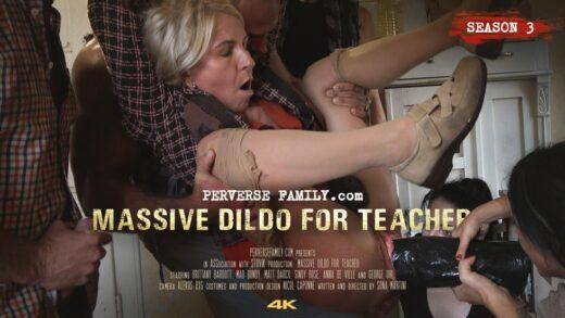 PerverseFamily S03E02 Massive Dildo For Teacher