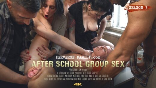 PerverseFamily S03E04 After School Group Sex