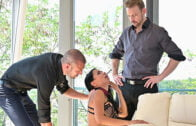 PornWorld – Kitana Lure And Alexis Crystal – Doctor Inspection Turns to Airtight DP Dick Injections