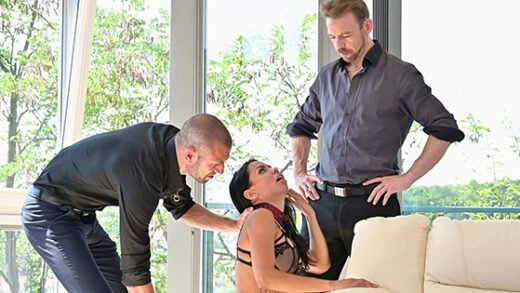 [PornWorld] Canela Skin (Submissive Nympho Whore Canela Skin Bound, Whipped And DPd in BDSM Threesome / 09.14.2021)