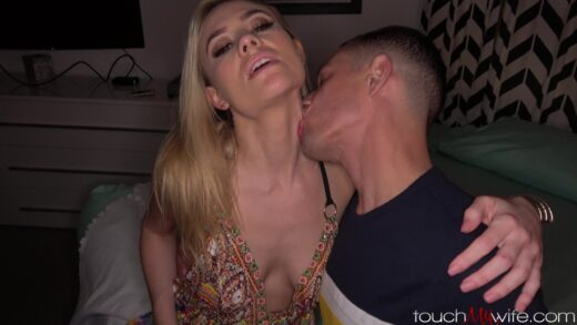 TouchMyWife - Addie Andrews - Wife Loves When Hubby Watches Her Fuck Other Men