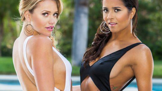 TwistysHard - Mia Malkova And Abby Lee Brazil - Three's Company!