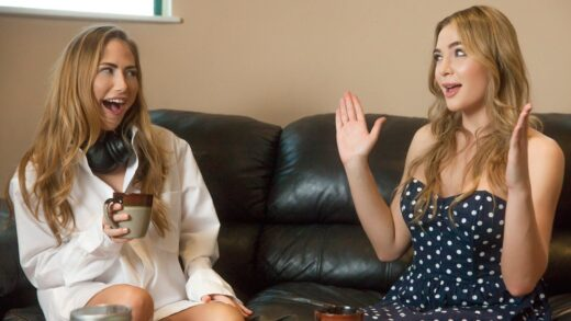 WhenGirlsPlay - Carter Cruise And Blair Williams - A Treat Story New Recruit Part 2