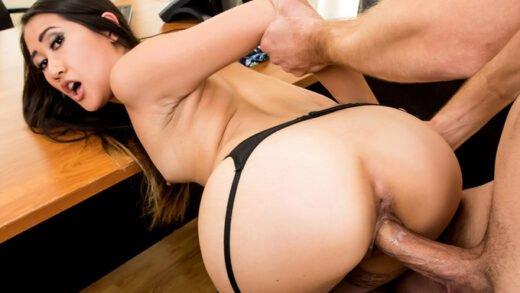 XXXAtWork - Jade Noir - Tight Little Asian Jade Noir Makes a Deal with Her Boss