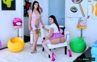 AllAnal – Maya Farrell And Lilly Hall – Lilly's Anal Assignment With Maya