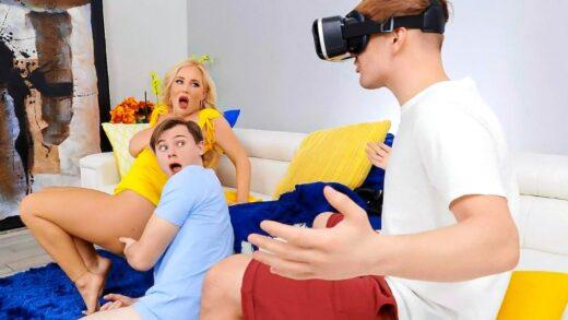 BrazzersExxtra - Savannah Bond - Pumped For VR!!!