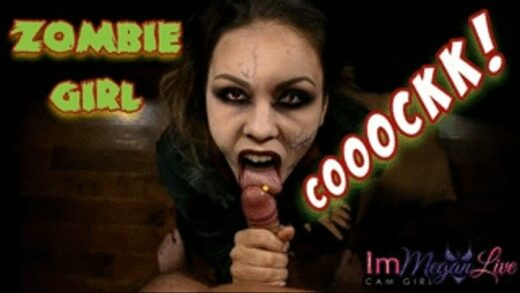 Clips4Sale - ImMeganLive - Zombie Girl Hungry For Cock