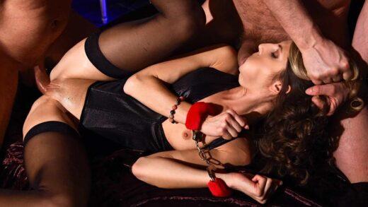 HouseOfTaboo - Gina Gerson - Ball Gagged & DP'd