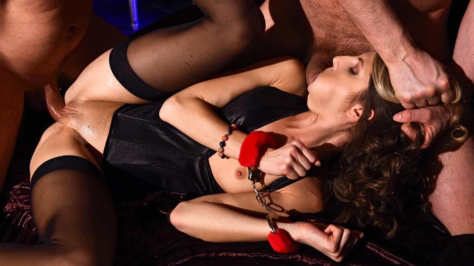 HouseOfTaboo – Gina Gerson – Ball Gagged & DP'd, Perverzija.com
