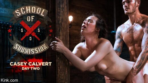 KinkFeatures - Casey Calvert - School Of Submission Casey Calvert, Day Two