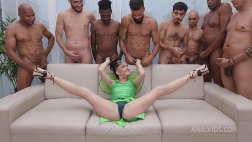 LegalPorno - Candy Crush - Young Teen Takes On 8 Big Cocks For Herself Intense Dp In Most Of The Scene