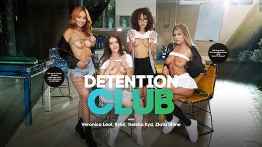[LifeSelector] Geisha Kyd, Zlata Shine, Sybil A, Veronica Leal (Detention Club / 10.10.2021)