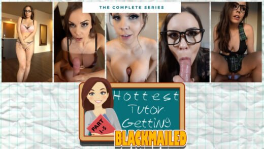 ManyVids - ImMeganLive - Hottest Tutor Getting Blackmailed Parts 1-5