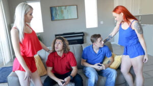 FamilySwap – Charly Summer And Katie Monroe – Taking Care Of Swap Dad On Fathers Day, Perverzija.com