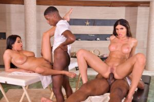 PornWorld – Cherry Kiss And Kaisa Nord – Interracial DP Foursome With Cheating Husband and Wife and Their Fuck Buddies, Perverzija.com