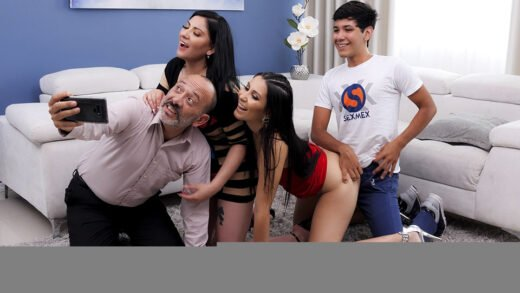 SexMex - Angie Miller And Teresa Ferrer - Immoral Family Part 2