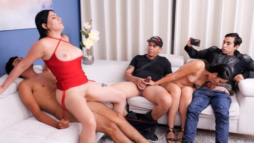 SexMex - Teresa Ferrer And Angie Miller - Immoral Family Part 4