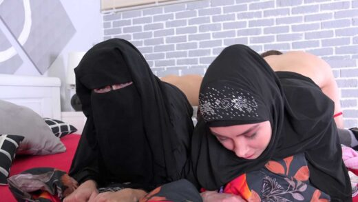 SexWithMuslims - Freya Dee And Nicole Love - Two muslim bitches