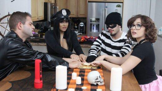 SisSwap - Leana Lovings And Serena Santos - The Ouija Board