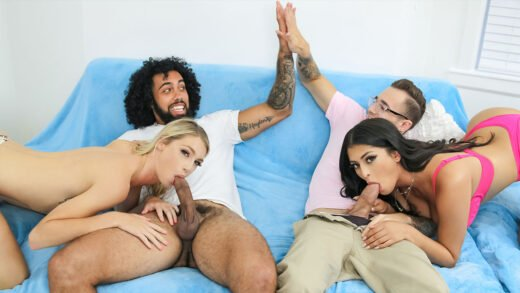 SisSwap - Sophia Leone And Payton Avery - Pervy Guessing Games