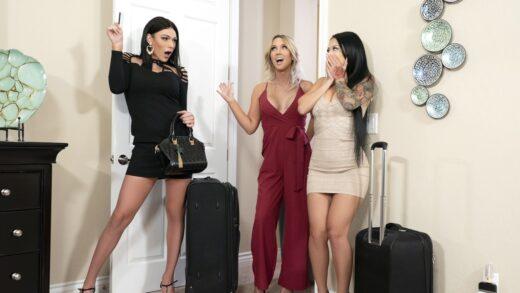 TransAngels - Katrina Jade, Kayleigh Coxx And Aspen Brooks - Girls Trip Part 1