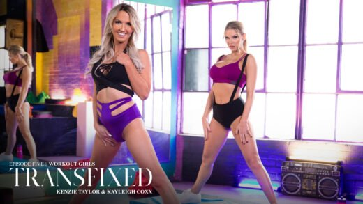 Transfixed - Kenzie Taylor And Kayleigh Coxx - Workout Girls