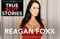 TrueSexStories – Reagan Foxx – Your Wife Fucks and Tells and Fucks in VR Porn